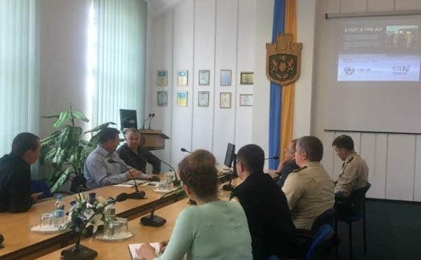 Partnership with Lviv Institute for Fire Safety