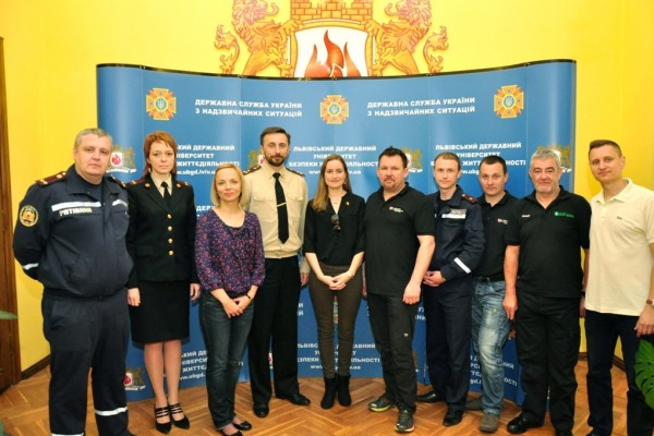 Partnership Working to Reduce Road Deaths at Lviv University for Life Safety, Ukraine