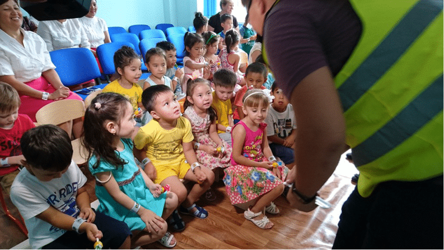 Road Safety Education Pack introduced to schools in Kazakhstan
