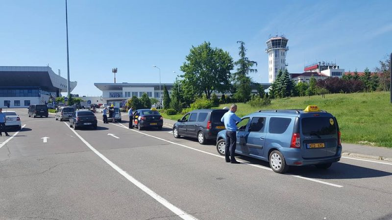 Taxi inspections carried out at Chisinau airport