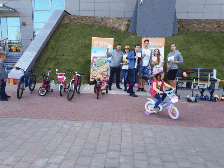 Cycling proficiency training for children in Belarus