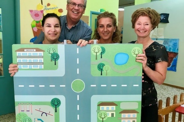 Marking European Day Without a Road Death in Crete