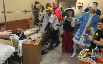 Children's hospital in Belarus gets a Happy New Year