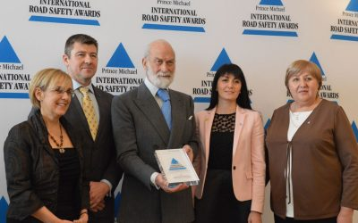An outstanding contribution to improving road safety