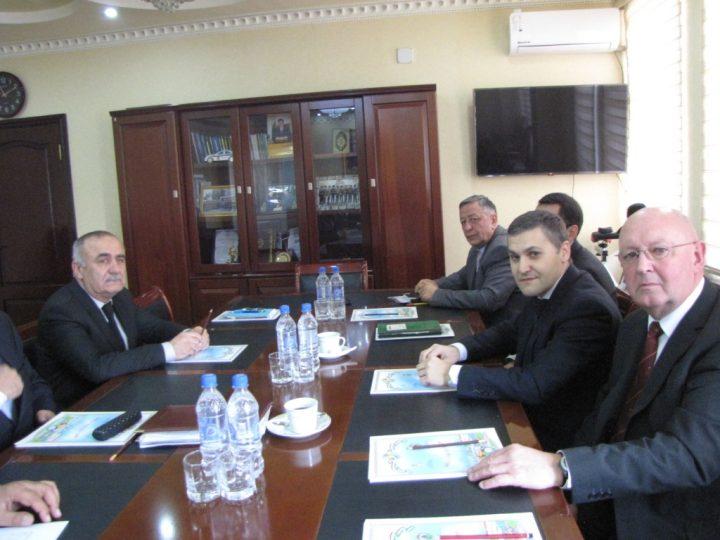 FIRE AID meeting in Tajikistan