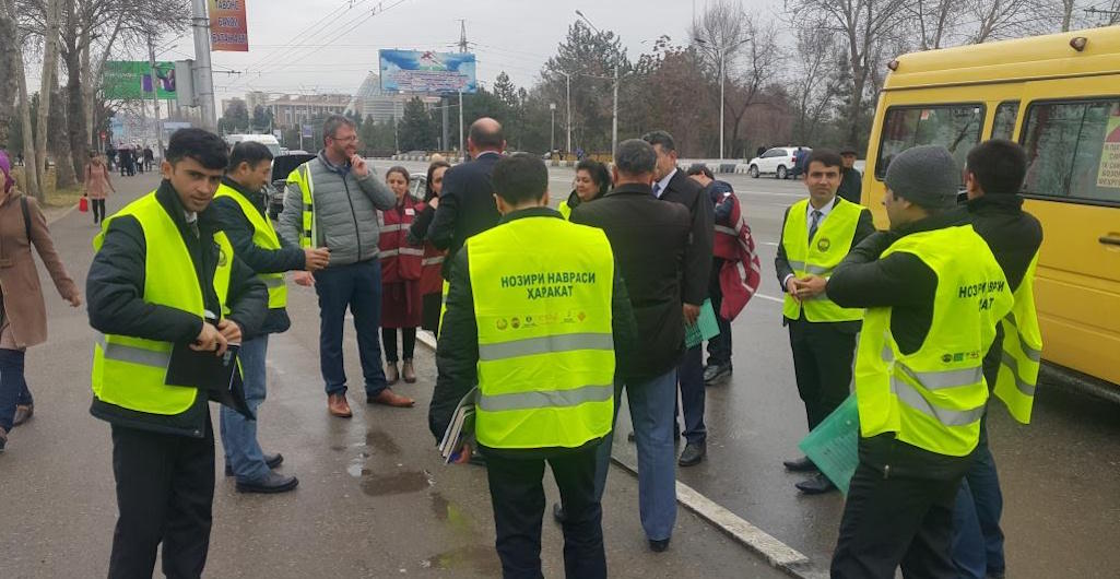 A crucial step towards building safer roads in Tajikistan
