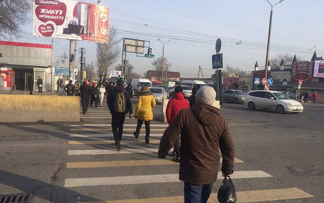 People-centered city design saves lives and is an urgent priority for pedestrian safety in Bishkek