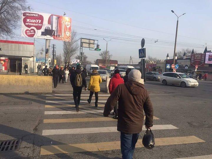 Pedestrian safety in Bishkek