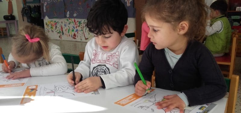 Preschool children in Chania get road safety education
