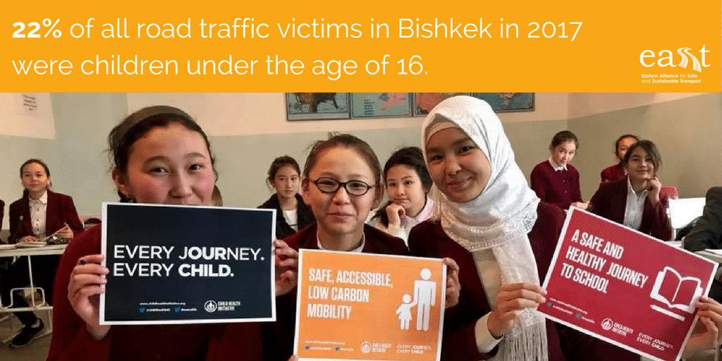 Pedestrian safety in Bishkek - 2