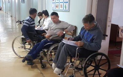 People with disabilities face tremendous mobility challenges in Bishkek