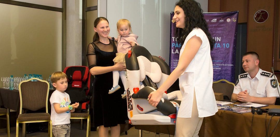 New web-platform to provide child car seats to low-income families in Moldova