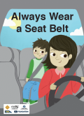Child road safety poster