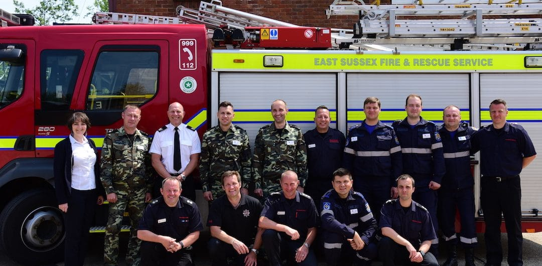 Building the capacity of local fire fighters to improve post crash response