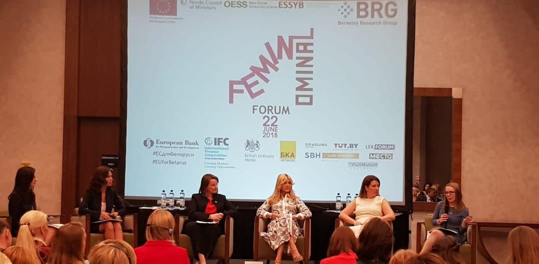 Addressing road safety from a gender perspective at the Feminominal Forum in Minsk