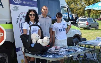Raising road safety awareness for children in Moldova