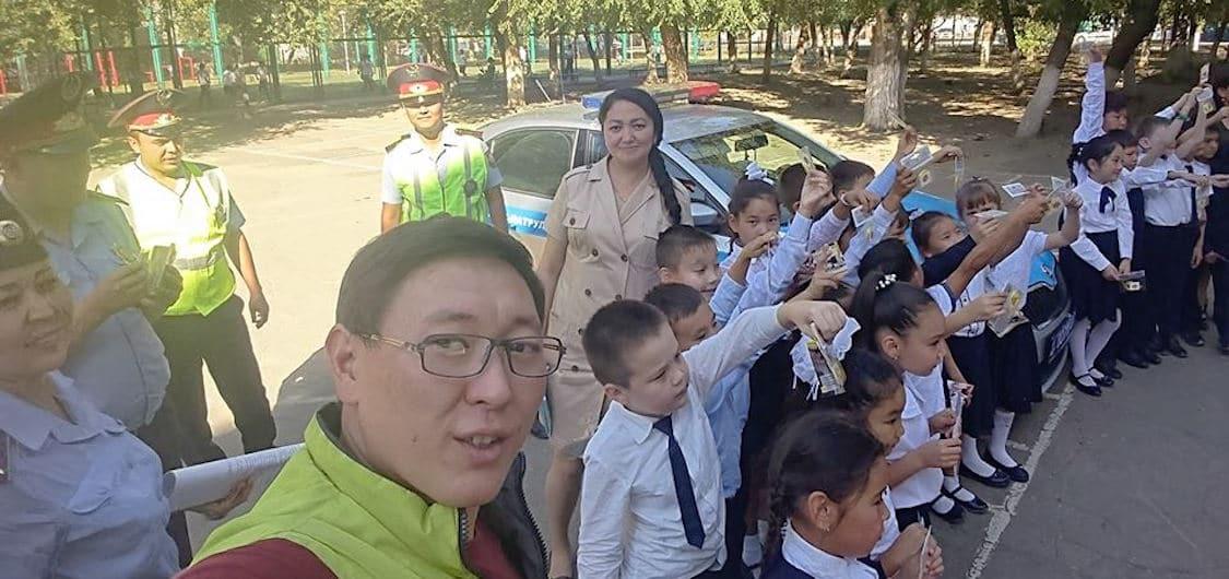 Road safety in Kazakhstan