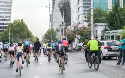 Tbilisi welcomes new 12km cycle network to city-scape to promote safe cycling