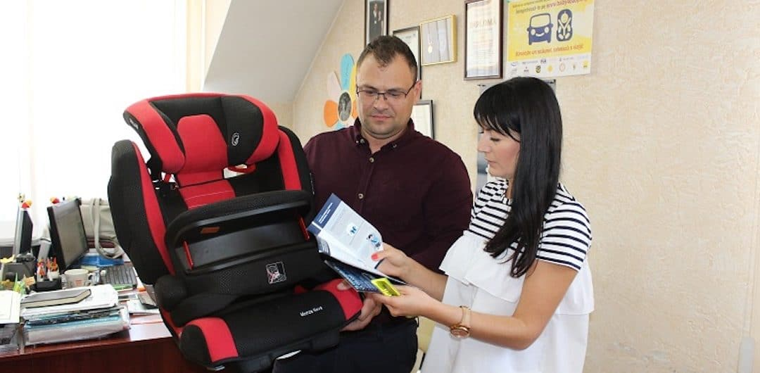A donated car seat can save a child's life