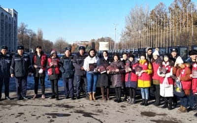 Road Safety Kyrgyzstan mark the World Day of Remembrance for Road Traffic Victims in Bishkek