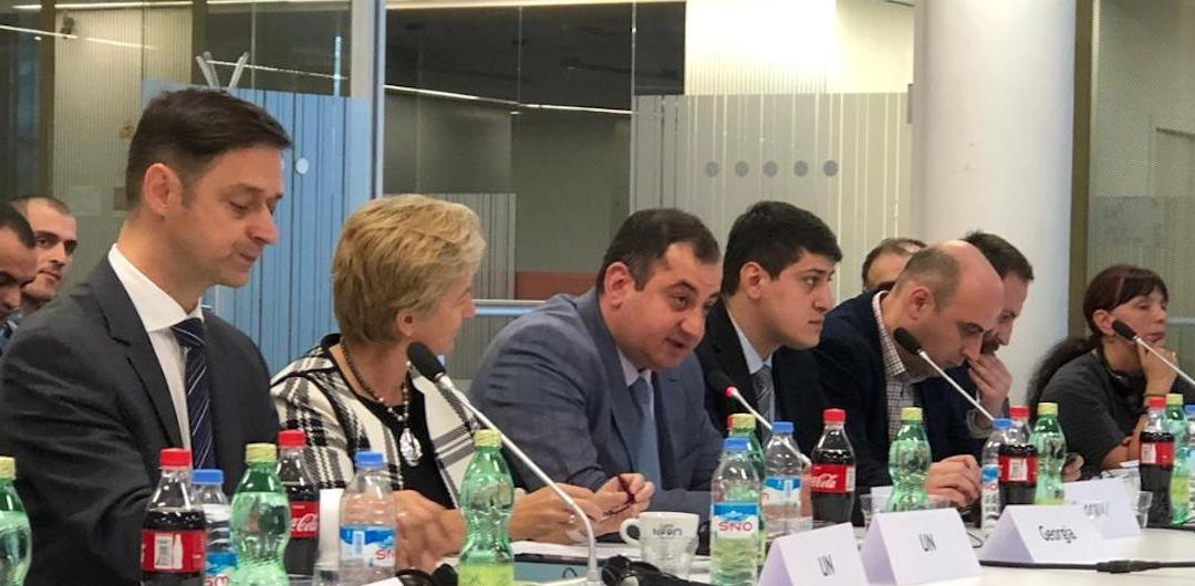 UNECE and Georgian Ministry of Economy host regional road safety discussions