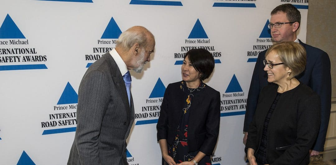 PA Road Safety Kyrgyzstan receive Prince Michael International Road Safety Award