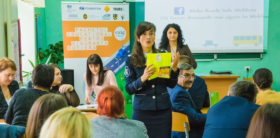 EASST Road Safety Education Pack gets official launch in Moldova