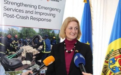 Improved capacity of emergency services in Moldova sees 200 lives saved … so far