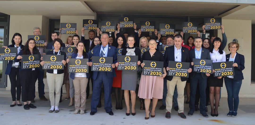 EASST partners meet in Crete to mark our 10th anniversary and join the sixth global meeting of the Global Alliance of NGOs for Road Safety