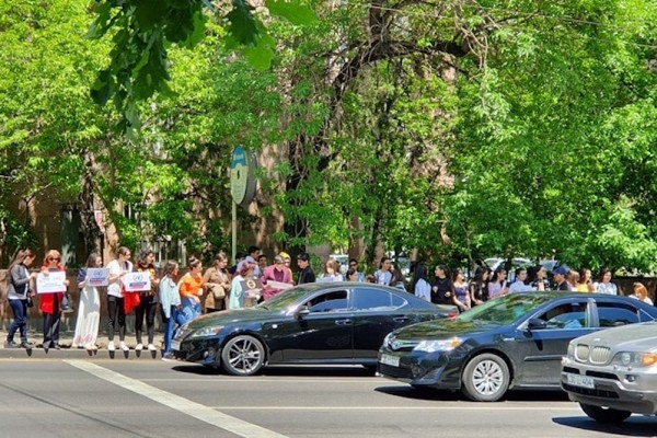 Global Road Safety Week in Armenia