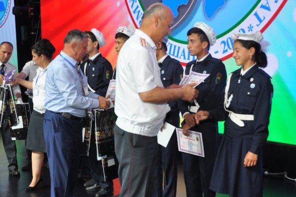 Supporting peer-led youth road safety initiatives in Tajikistan