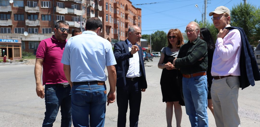Improving pedestrian safety in the historic city of Gyumri, Armenia