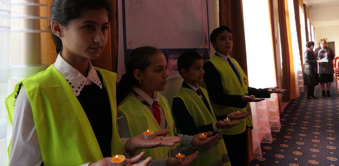 Young Generation of Tajikistan focus their 2019 World Day of Remembrance actions on reducing speed