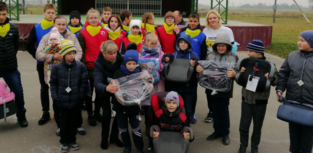 Delivering inclusive road safety lessons for children and parents in regional Belarus