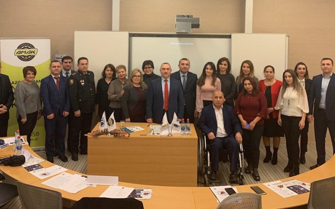 Roundtable meeting addresses road risk of street children in Baku