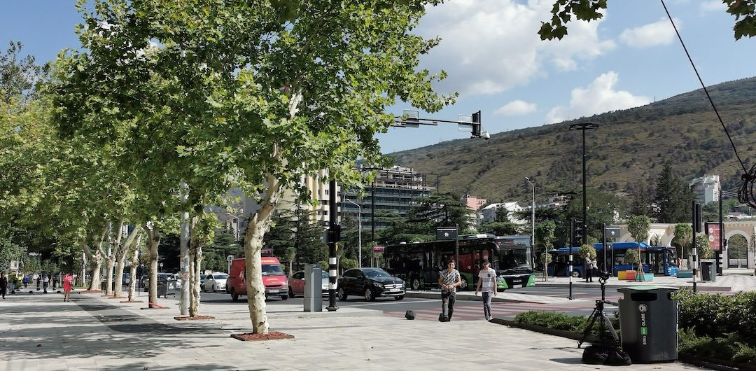 Tbilisi unveils its first shared and pedestrian-friendly avenue