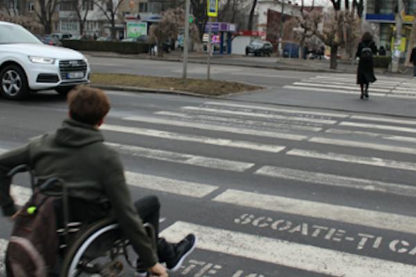 Vulnerable road users prioritised as Chisinau's Dacia Street is transformed