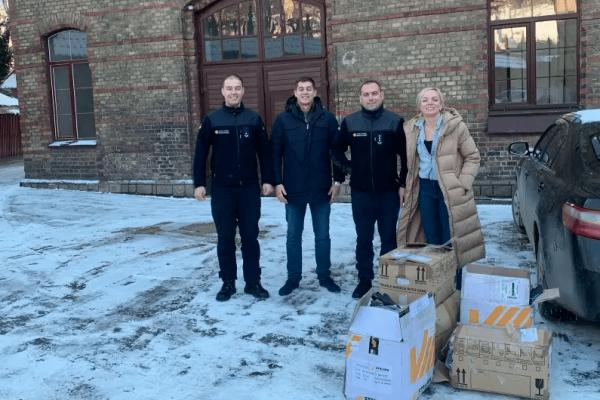 STALSEN donate safety gloves to Emergency Services in Ukraine