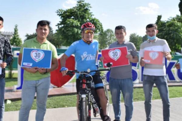 Joint initiative promotes sustainable transport options to make roads safer in Tashkent, Uzbekistan