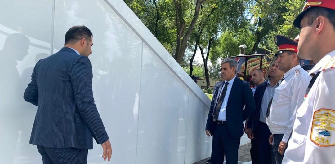 Newly renovated underpass in Dushanbe helps vulnerable road users to avoid dangerous road crossing