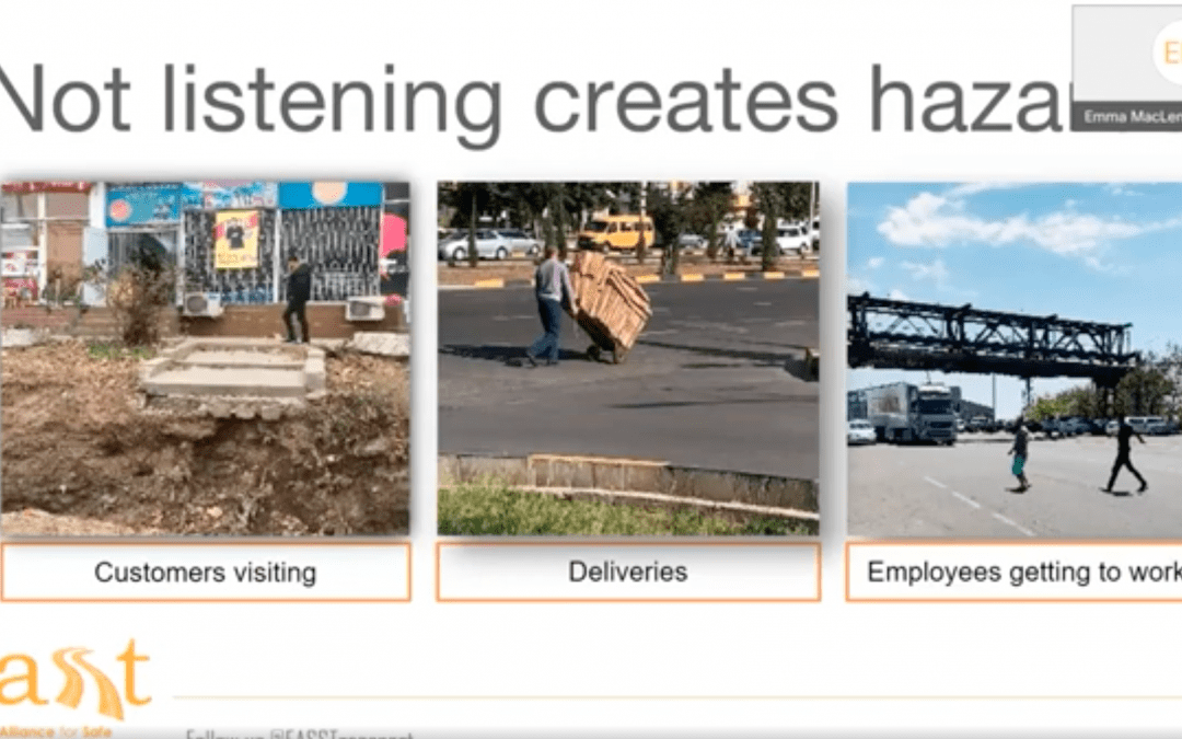 Reducing road risk through meaningful stakeholder engagement